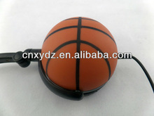 Hot selling cheap basketball headphone for christmas for MP3 iphone Mobile phone Tablet pc ps3