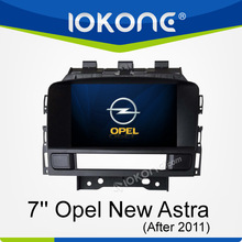 opel new astra touch screen car dvd gps with radio bluetooth
