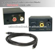 New arrival Digital audio to Analog video audio converter