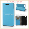 High quality smooth leather case for blackberry z30, for blackberry z30 case leather with card slots