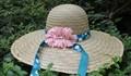 sombrero de paja para la decoración