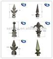 Alumínio spears e florões para cerca pipe ( D16 ou 19 mm )