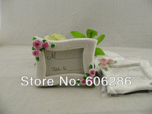party supplies home decoration creative rose flower design rose photo frame wedding favors