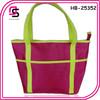 Wholesale fashion neon satin ladies handbag