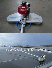clean machine to wash solar panel, solar panel wash
