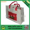 natural chevron cotton tote bag,cotton bag paypal