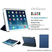 for ipad mini 1 / 2 / 3 Cover Case, Foldable Leather Cover Case for iPad Mini 1 2 3 7.9'' tablet pc