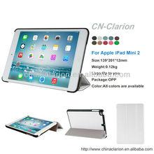for iPad Mini / Mini Retina / Mini 3 Case (Released 2014), Slim Cover Smart Feature (Built-in magnet for sleep / wake feature)