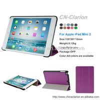 for Apple ipad mini 2 Cover Case, Ultra Slim Leather Cover Case for iPad MINI 1/2 Case