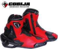 motorbike racing boots 90023 Red