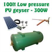 Solar PV geysers