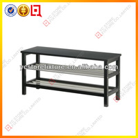 Fashional and convenient stainless steel shoes bench