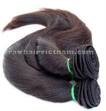 CHEAP PRICE RAW HAIR VIETNAM GOLDEN COMPANY HAIR SINGLE DRAWN WEFT NATURAL COLOUR BLACK BROWN GREY BULK HAIR SUPPLIER