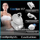 Coolipo V7 cavitation ultrasonic fat freezing cryolipolysis electric muscle stimulation weight loss machine