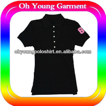 Customize Design Your Own Style Female Leisure Practical polo shirts with short sleeves
