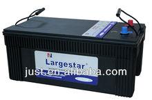 Japan high capacity storage battery 2014 top sellings MF N200 12v battery 200ah