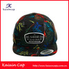 New arrvial floral printed snapback cap custom-made embroidered hawaii print snapback hats