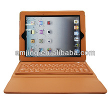 amazing silicon bluetooth keyboard for ipad case leather case