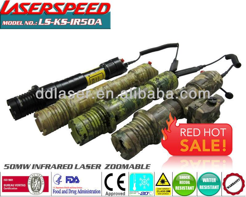 50mw adjustable beam hunting rifle/longgun mounted INFRARED LASER DESIGNATOR high performance riflescope