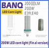 20000Lm 546pcs 5630 E40 E39 200W LED corn highbay floodlight Bulb light lighting lamp indoor 100W 120W 150W 250W 80W CE ROHS EMC