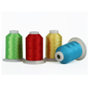 120D/2 polyester reflective thread for embroidery