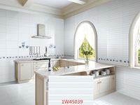 white wave ceramic tile