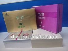 china supplier cosmetic gift box