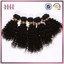 Full cuticle unprocessed virgin indian deep curly hair,100% indian deep curly hair