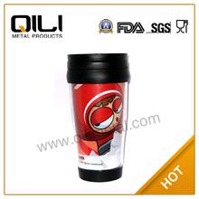 Advertising BPA FREE FDA auto cups 14oz auto flask auto vacuum flask