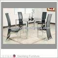 mesa redonda e conjunto de cadeira rattan conjunto de jantar de vime
