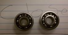 "1621-2RS 1621-ZZ Radial Ball Bearing 1/2"" Bore"