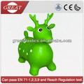 พลาสติกของเล่นสัตว์กวางสีเขียว
