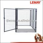 5' x 10' x 6'ft outdoor large metal dog pet crate