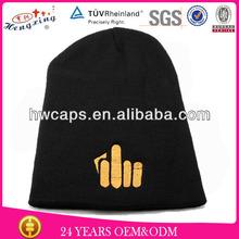2014 High Quality Waterproof New Plain Blank Free Knitting pattern Beanie Knit Ski Caps