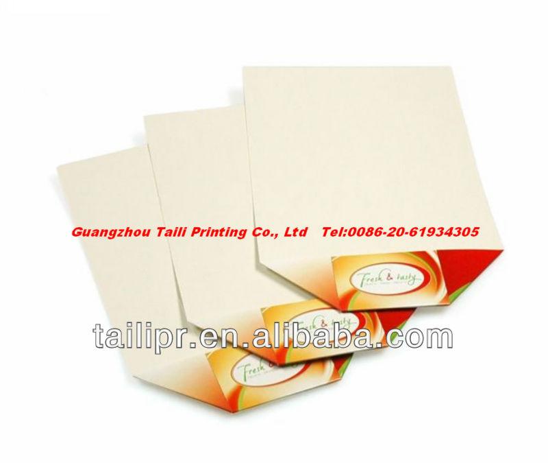 Flat pack paper cardboard fast food tray, View Flat pack fast food ...