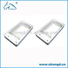 mobile phone cover aluminium cnc machining parts