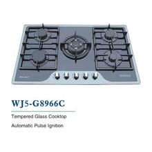 5-burner gas cooking range design WJ5-G8966C