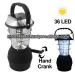 Solar Power LED Lantern with Car Charger