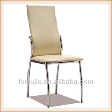 Z630A-8 Factory Price Furniture Art Foshan Modern High Back Leather Dining Chairs