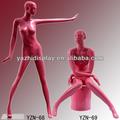 rosa brilhante sexy corpo inteiro manequins femininos na venda