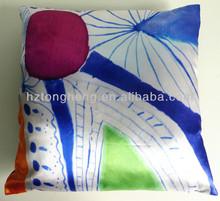 Decorative Satin Sofa Cushion For Sale