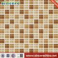 8mm azulejos de la pared de mosaico materiales de la decoración