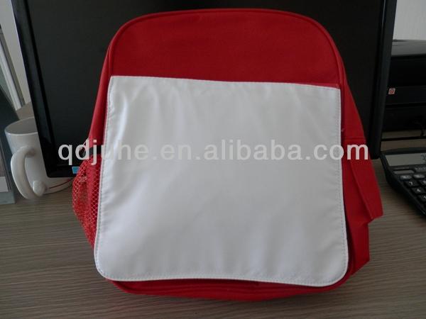 Custom blank sublimation children backpack