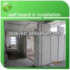 Pressure isolation foam concrete wall panels for villa wall