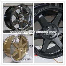 aluminum car alloy wheel rim TE37 Sainbo wheels