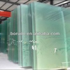tempered glass wall panel