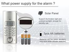 wireless home burglar security alarm system auto dial