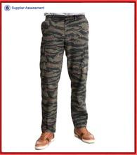 Tiger stripe camo slim fit camouflage pants