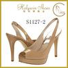 Holywin Slingback Platform High Heel Shoes Lady 2014 Comfortable Dress Shoes For women