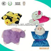 2014 Custom Soft plush baby cushion